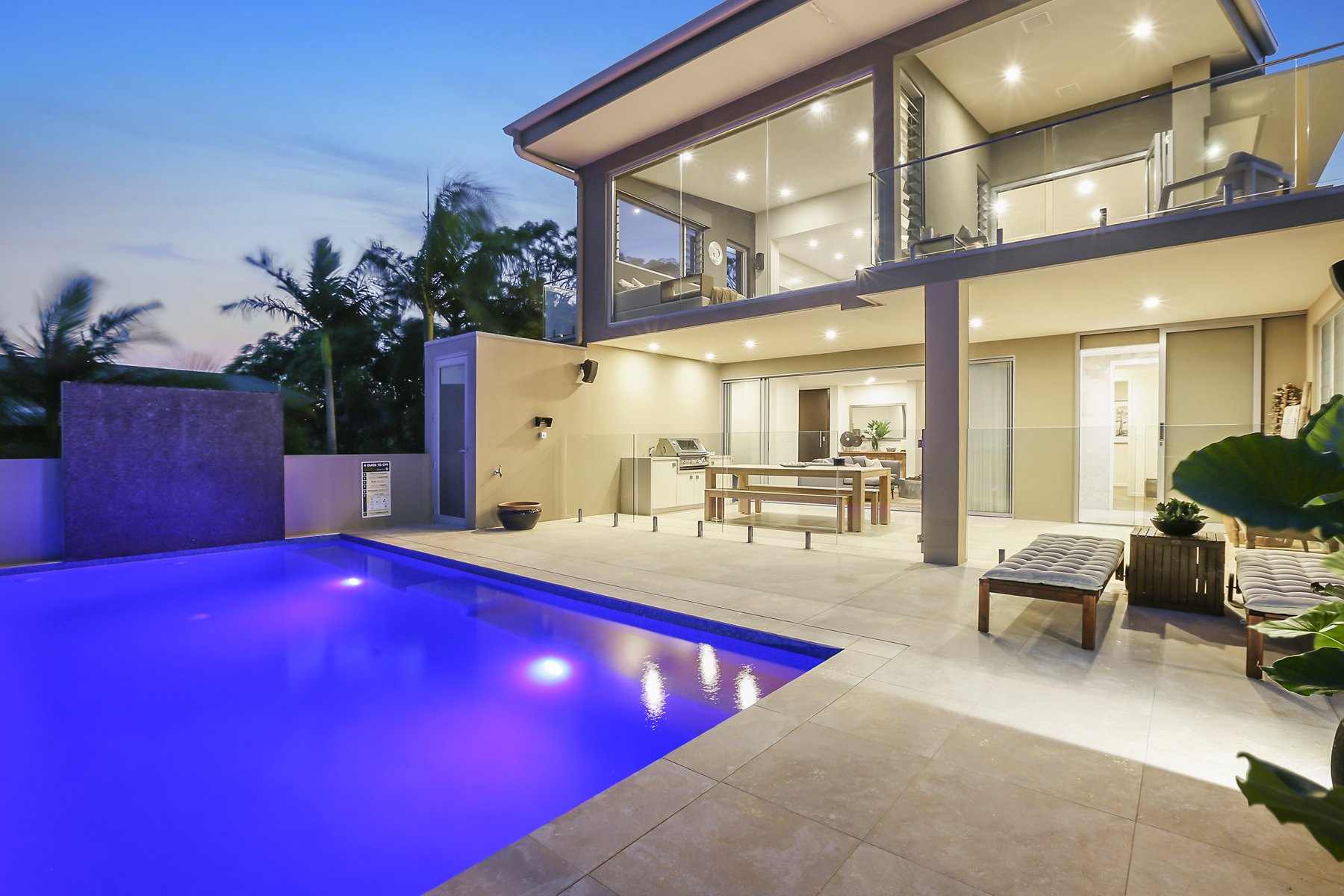 Oceanview trophy home with scintillating north-east aspect