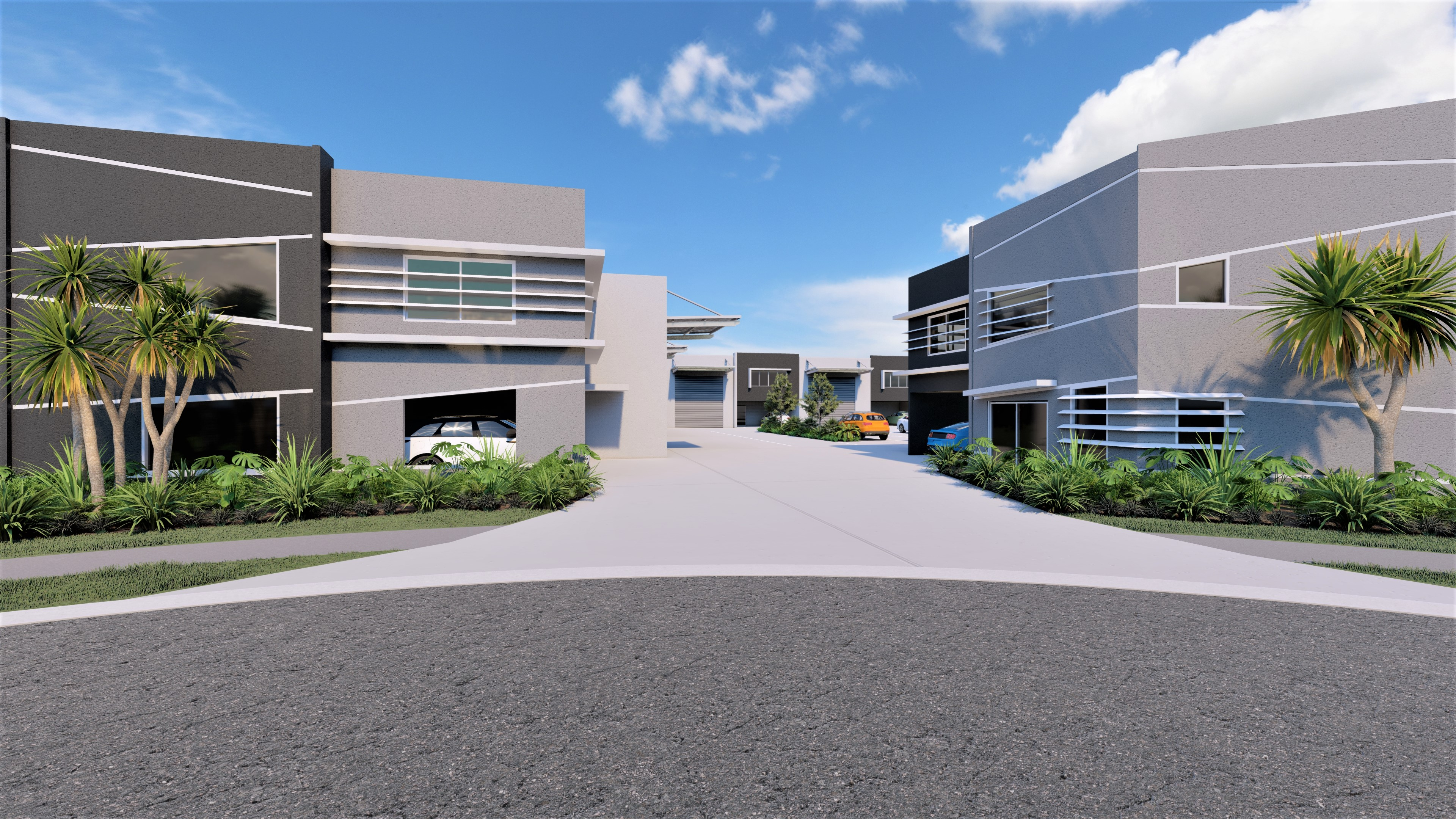 Inventory Business Hub – Super Modern Sophisticated Industrial Units