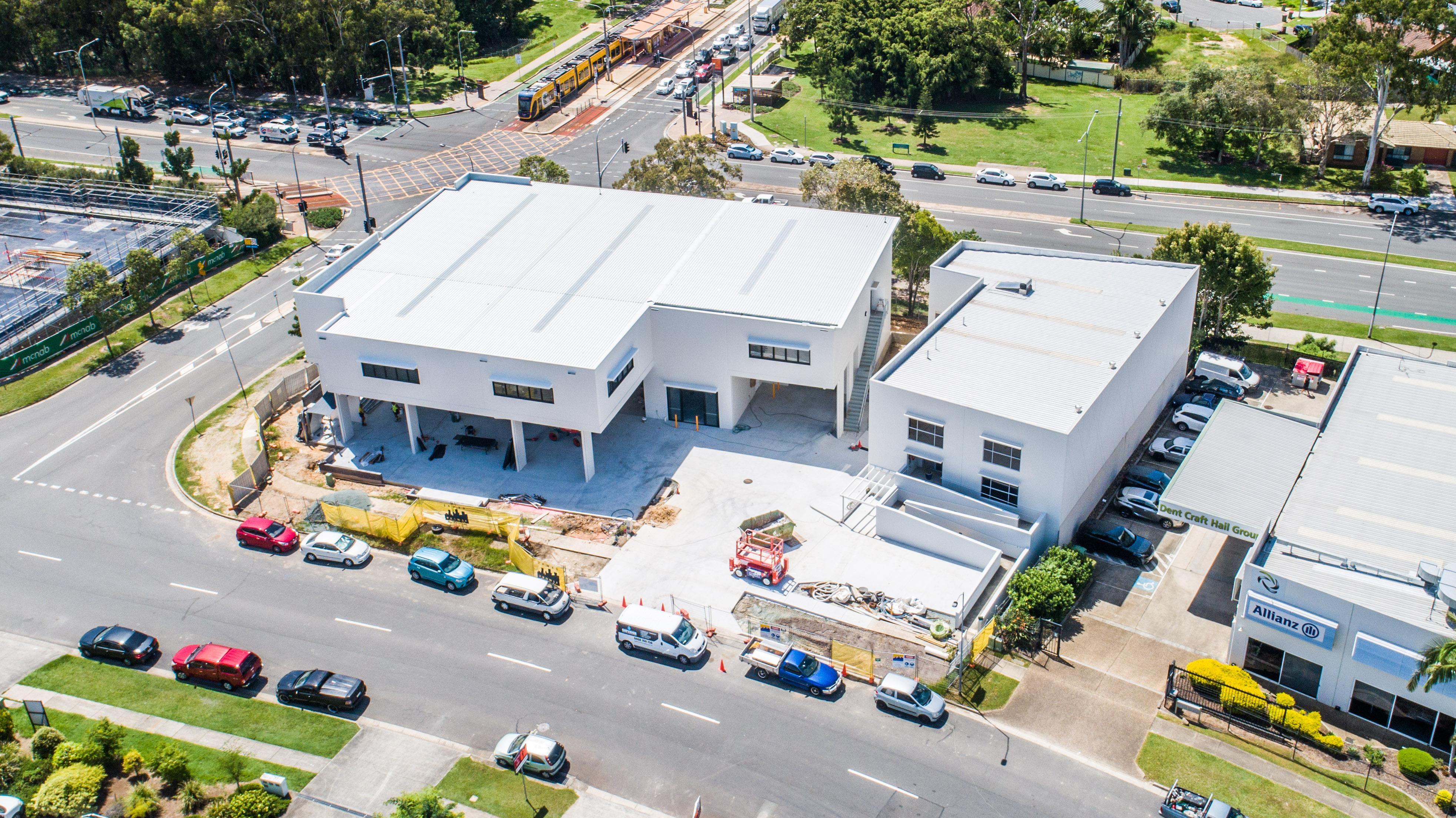 Modern Industrial Headquarters
