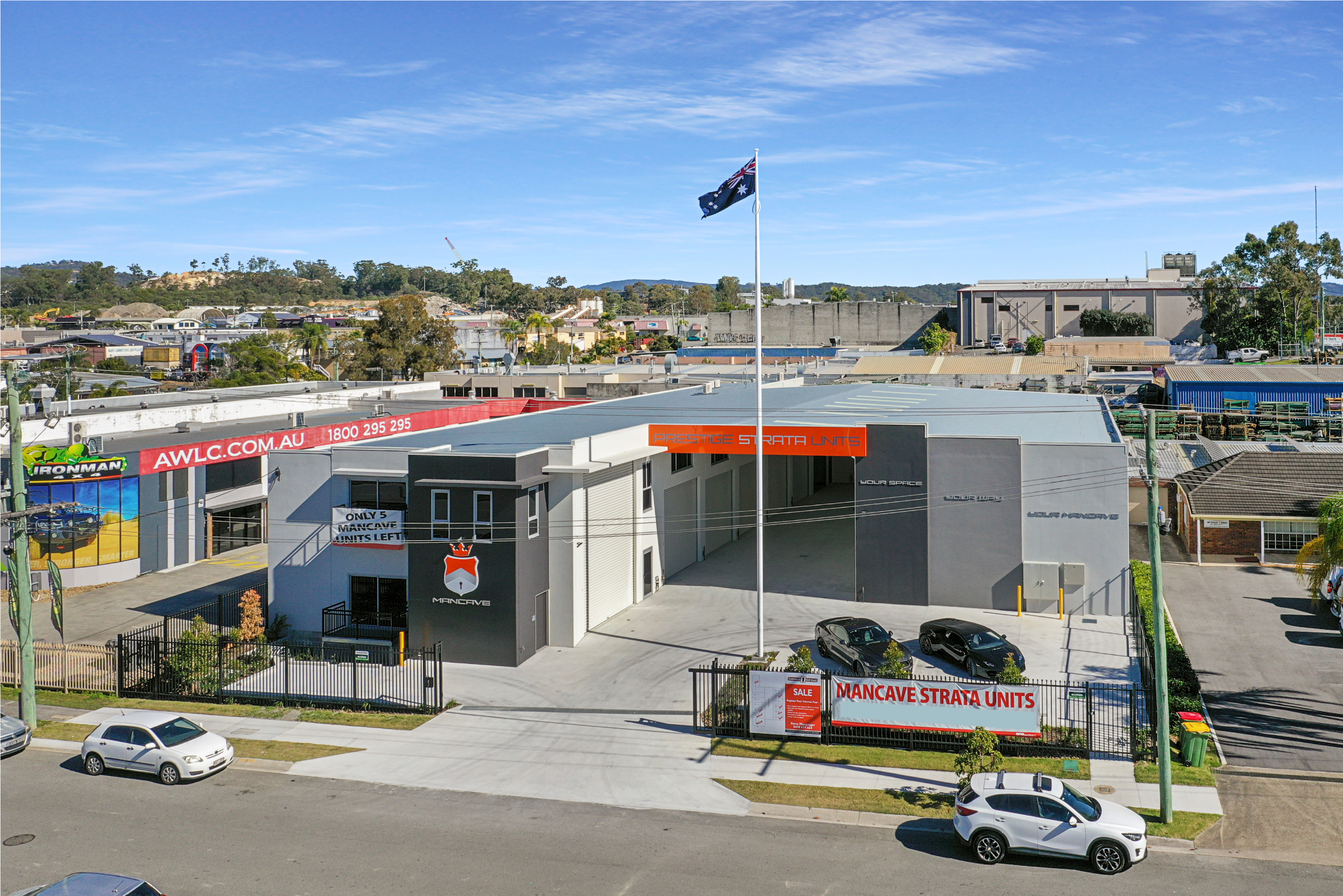 Industrial Storage Unit – Great Location