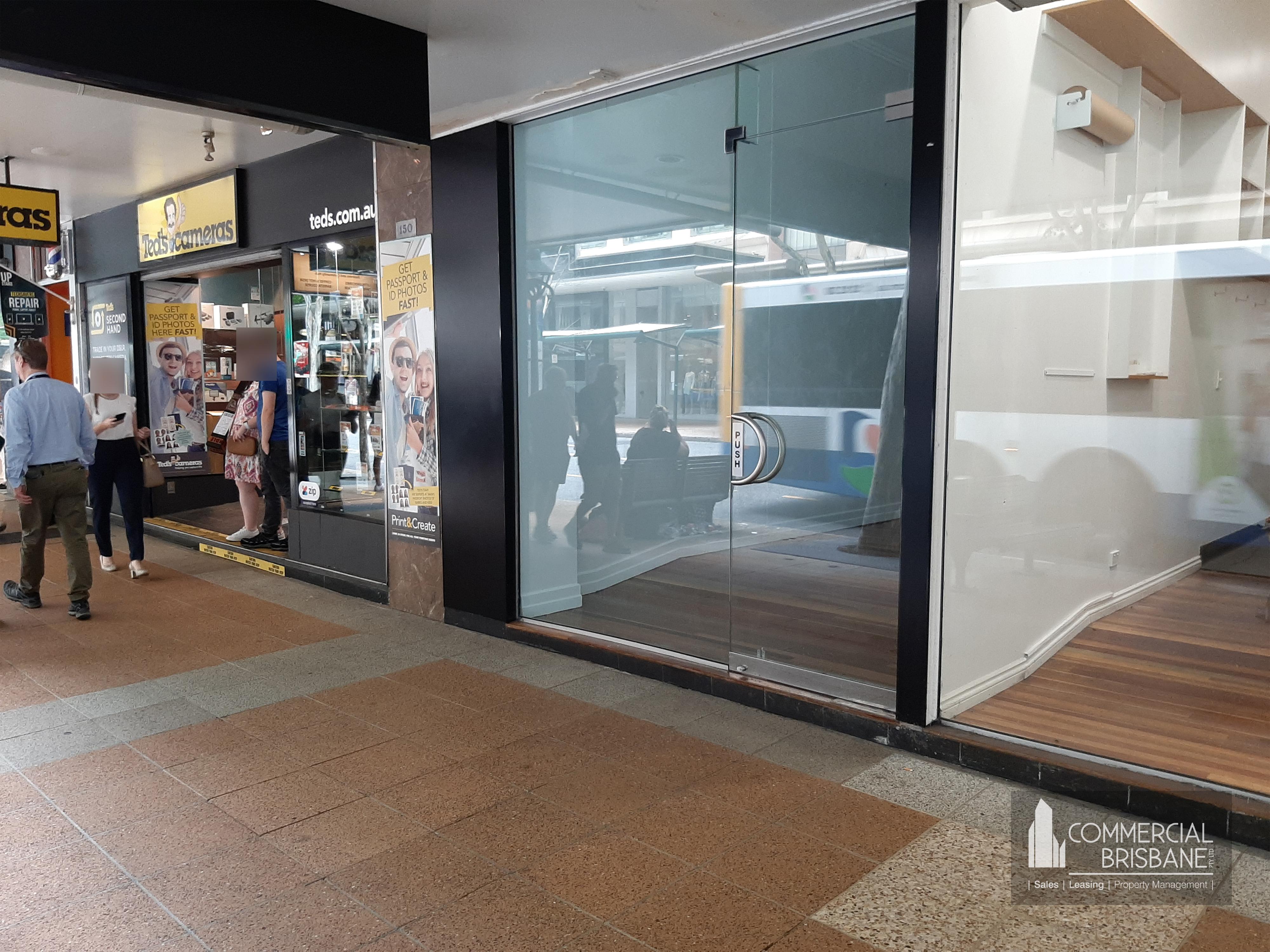 Prime Adelaide Street Shop Location