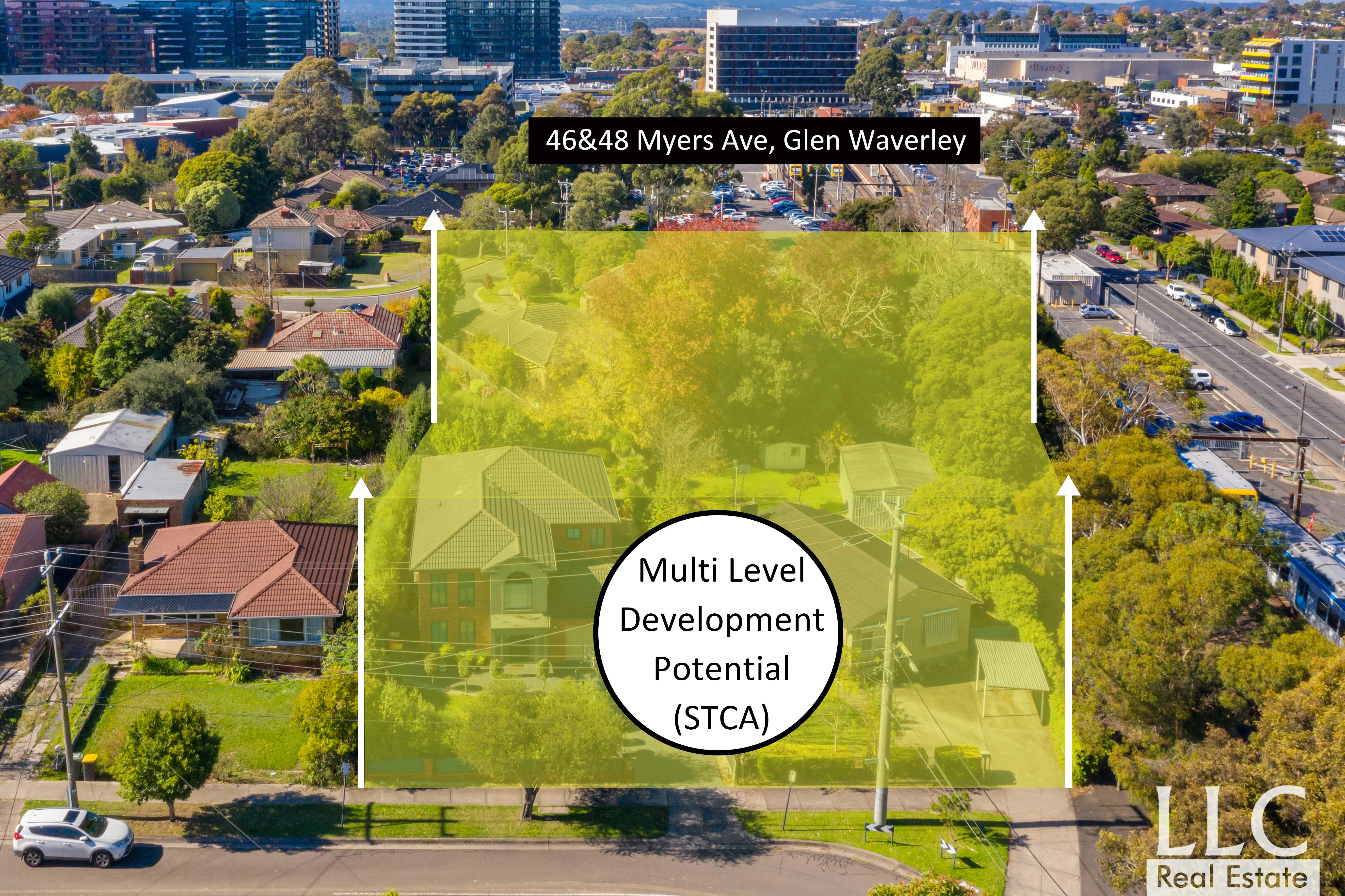 Rare opportunity, Multi-level Development Potential in Central Glen Waverley. (STCA)