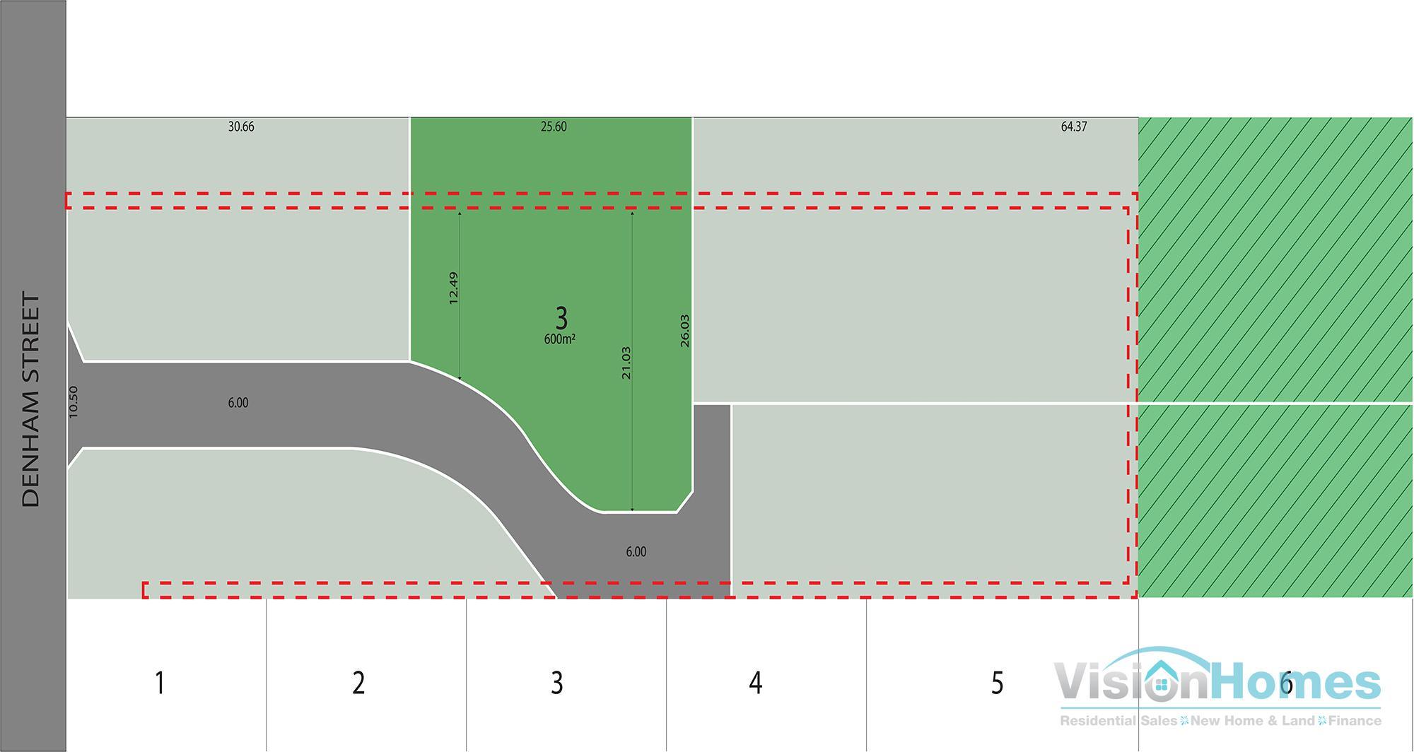 Lot 3 Denham Greens @ 149 – 600m2