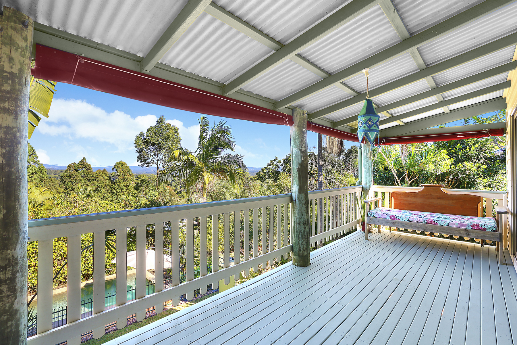 Charming Buderim property with views over the hinterland