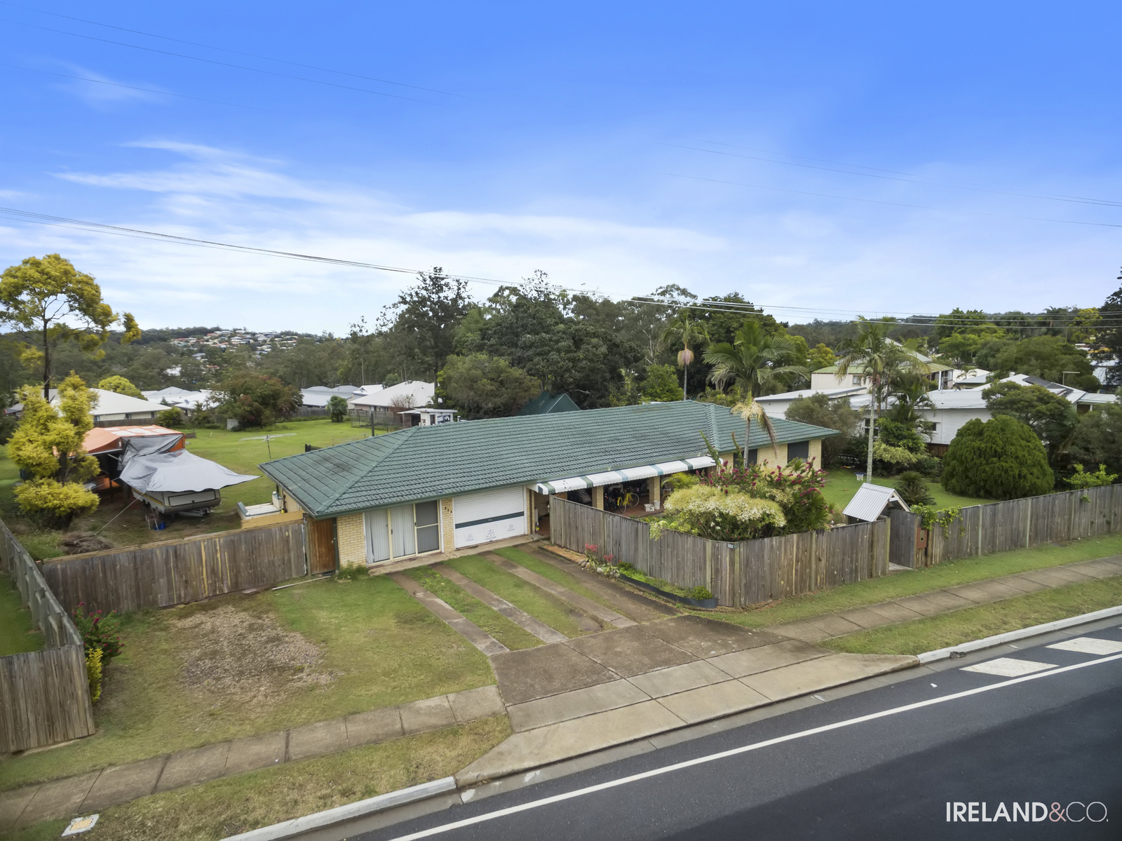 Renovated home on 3122m2 in Brassall