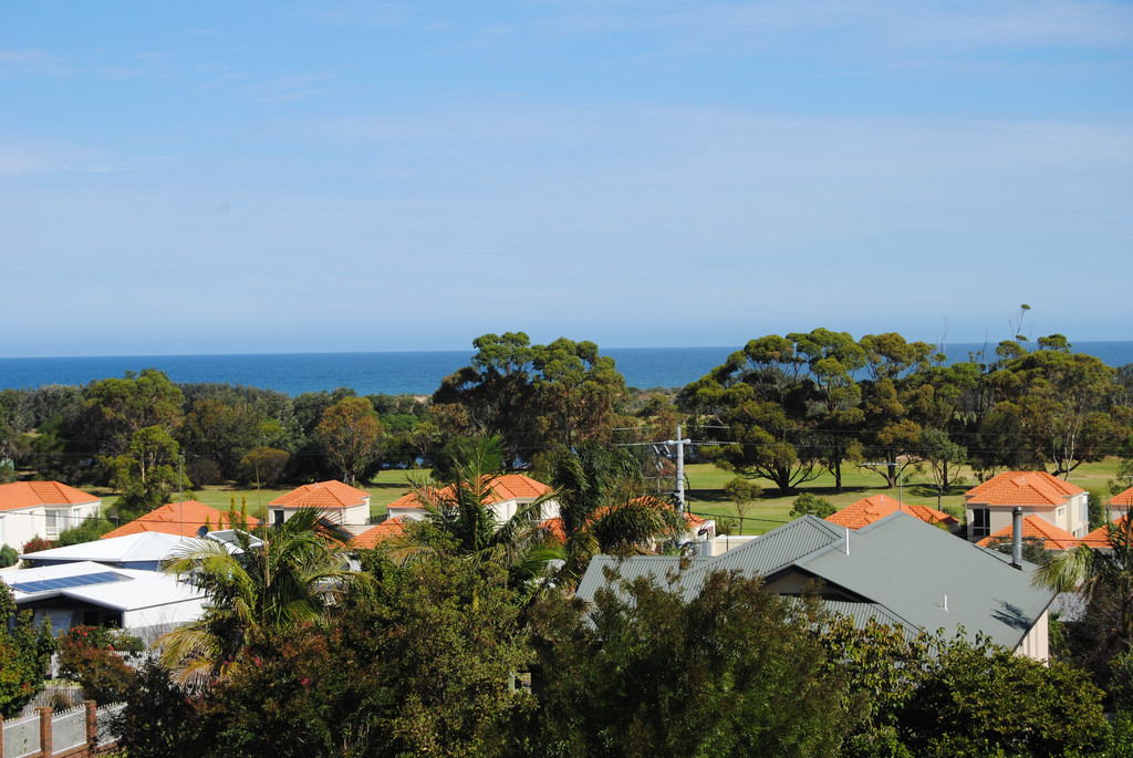 Large building allotment near golf course with ocean views