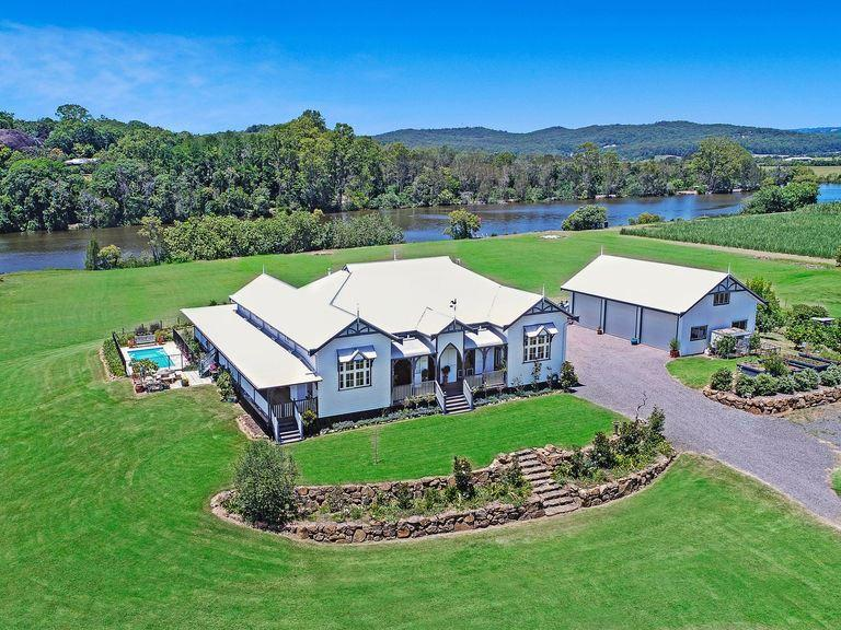 Remarkable Riverfront Property On The Sunshine Coast
