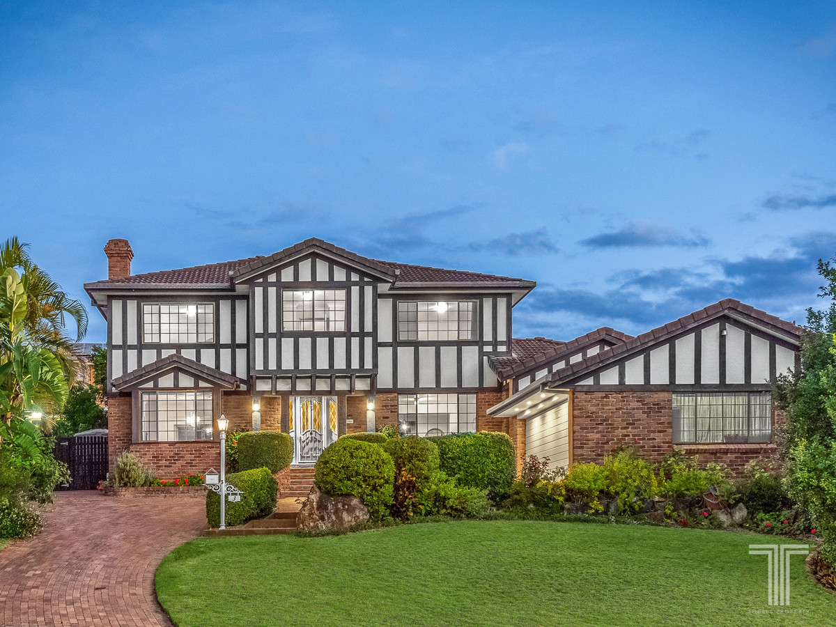 Grand Tudor Home Surrounded by Parks and Golf Course
