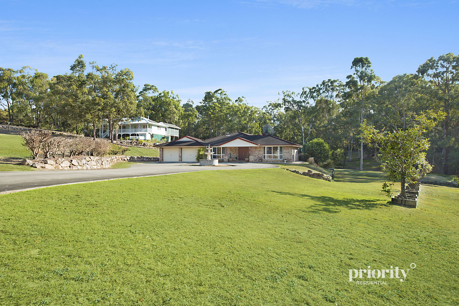 Spacious home on usable acreage