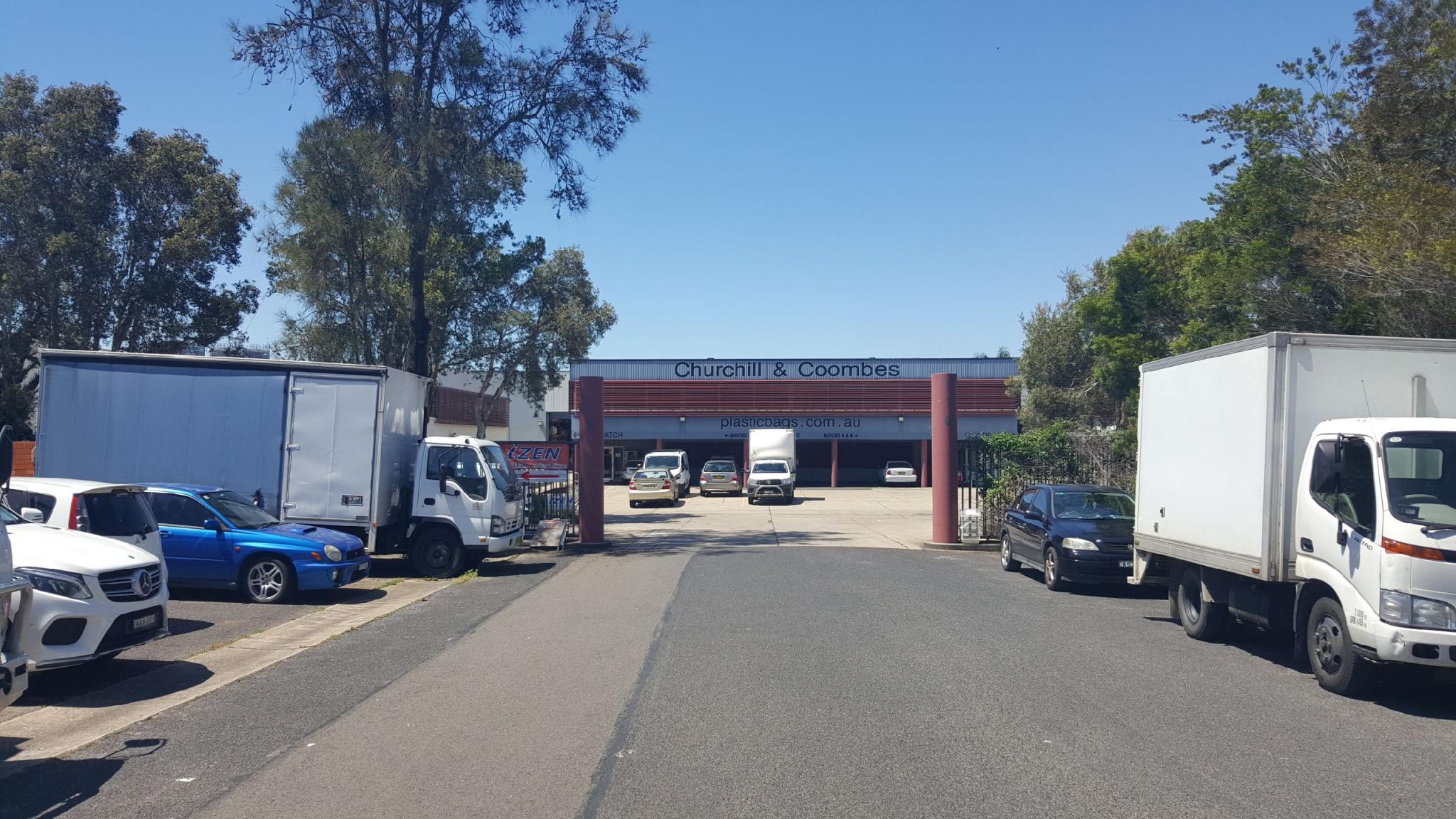 WAREHOUSE WITH MEZZANINE OFFICE
