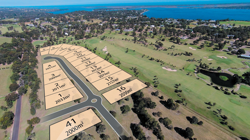 GOLF COURSE LAND AVAILABLE NOW ! – NEW RELEASE FROM $125,000 FOR 1/2 Acre