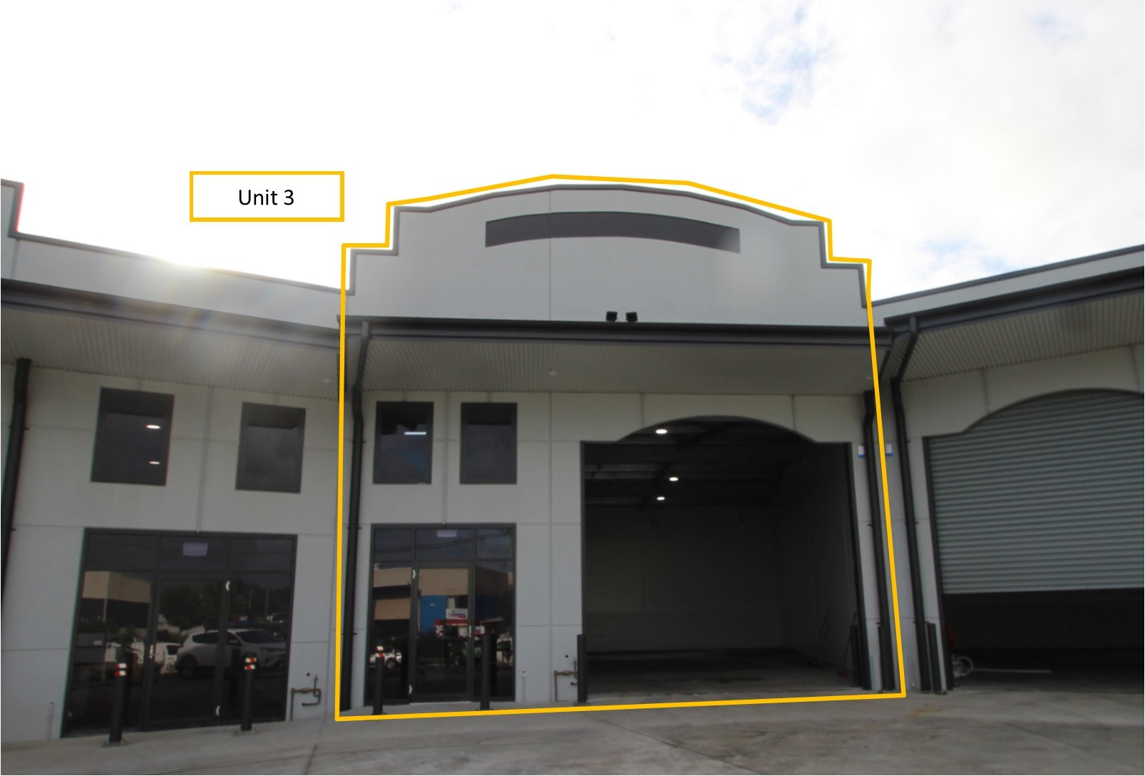**** UNDER OFFER ****  JUST COMPLETED NEW INDUSTRIAL UNIT