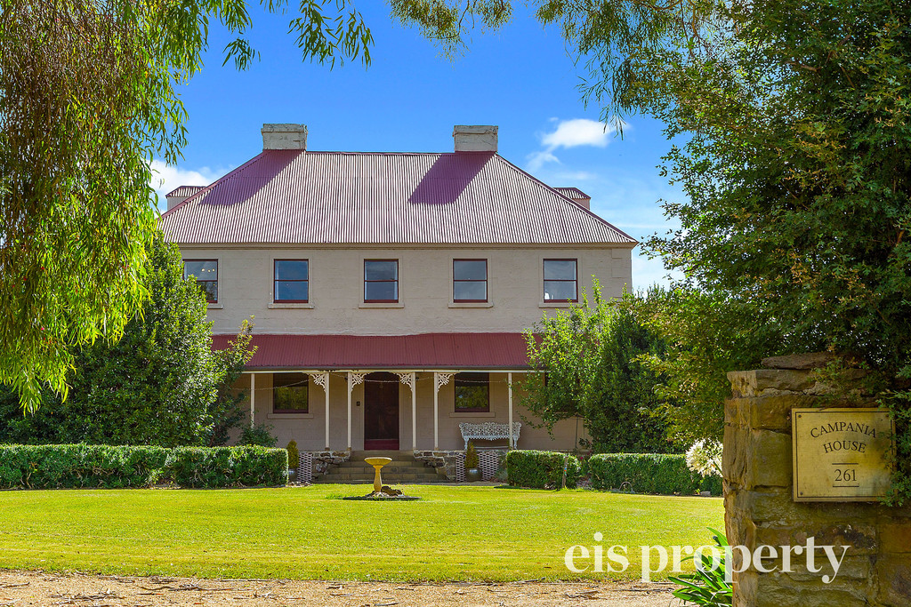 """""""Campania House"""" Circa 1800's –  a place of Historic Tasmanian Heritage Significance"""