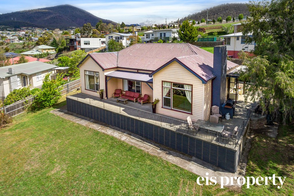 Character home with amazing views on a private, double block!
