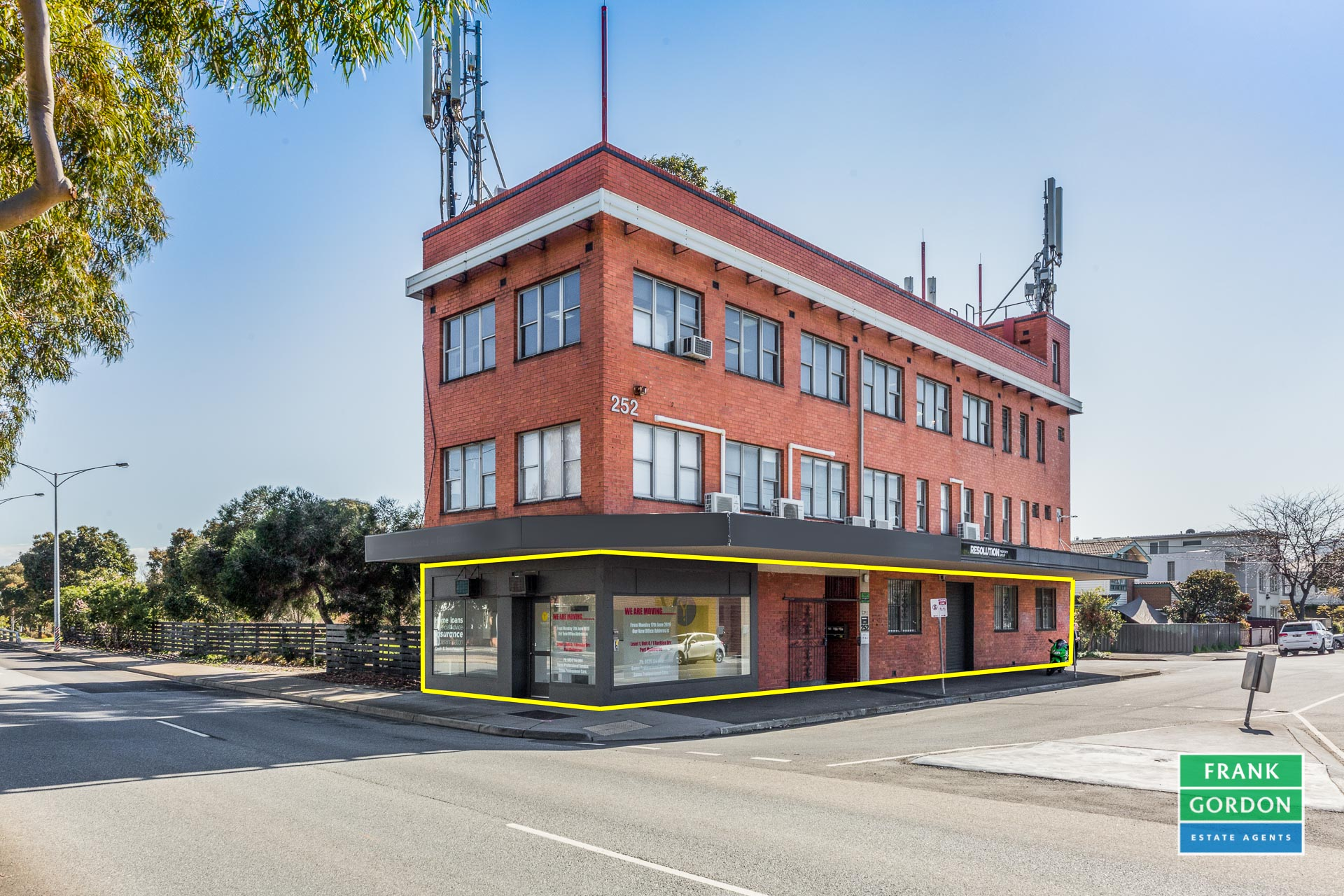 Great Exposure in a Highly Sought After Location