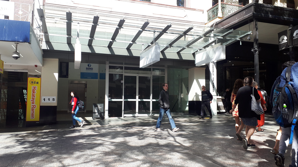 Former Bank premises in prime Queen Street Mall location
