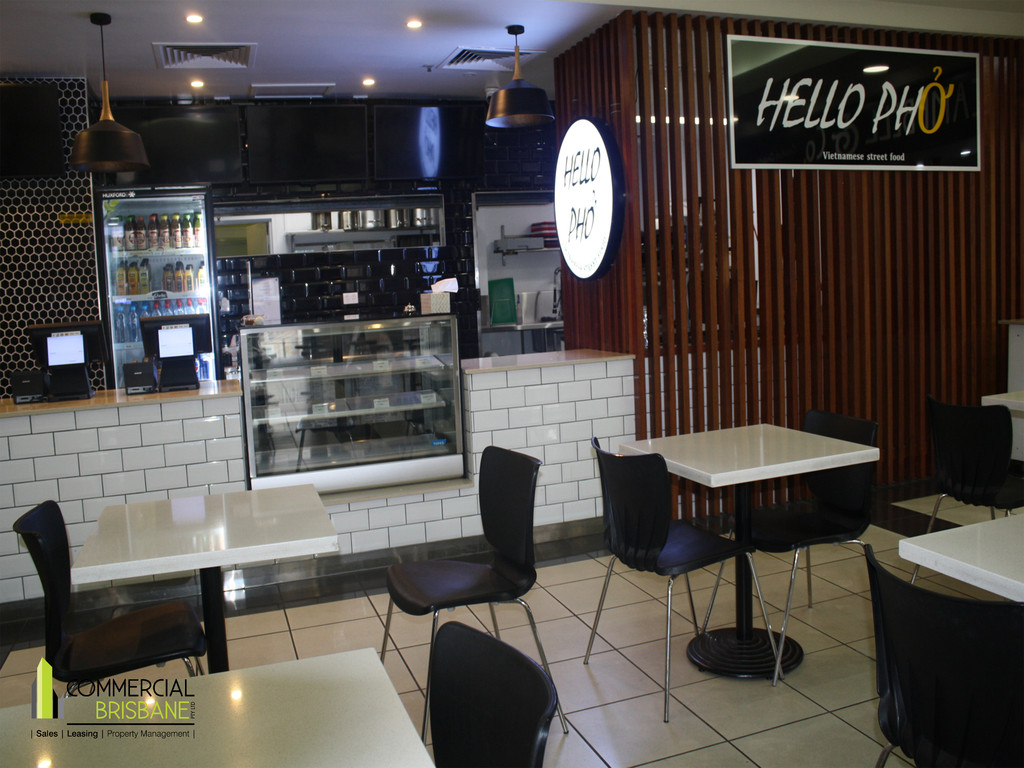 Fitted Out Asian Food Shop with plenty of seating externally