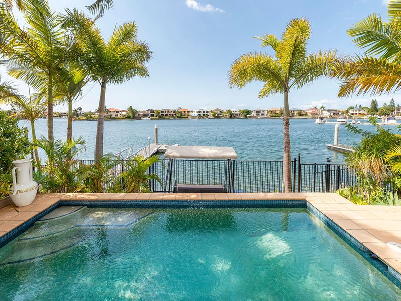 Private, Peaceful and secure with amazing wide water views and a LIFT too.