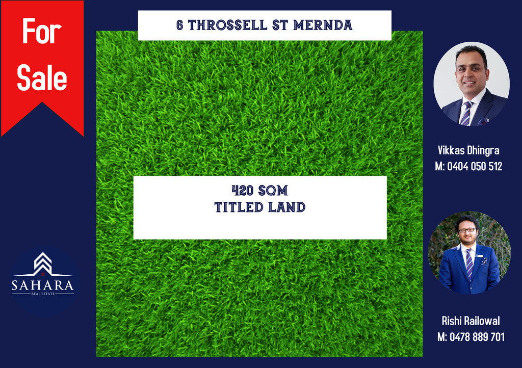 INVEST OR NEST BEAUTIFUL READY TO BUILD LAND FOR SALE IN MERNDA!!!!!!!!!!!