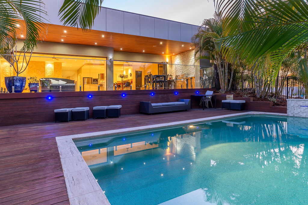 ARCHITECTURALLY CRAFTED SINGLE LEVEL WATERFRONT HOME
