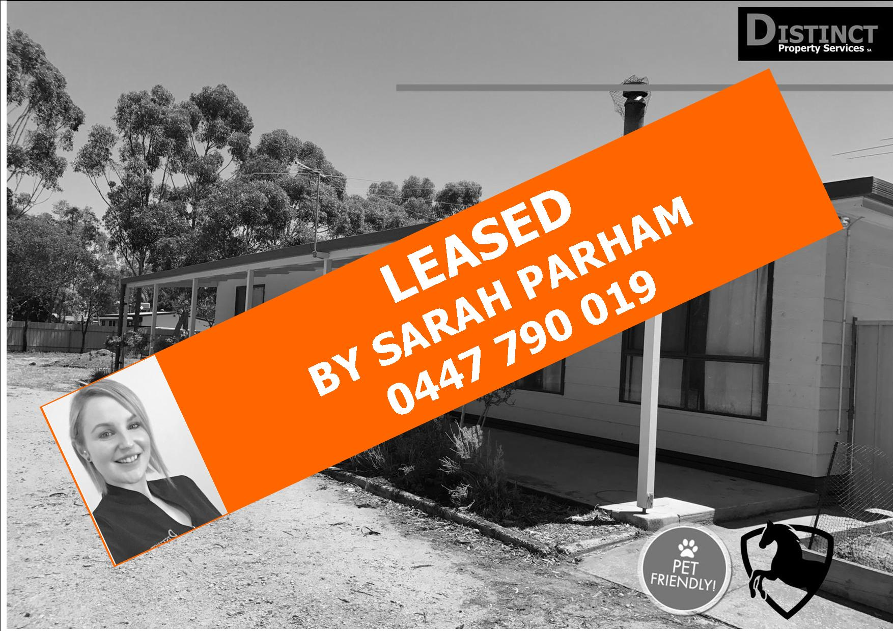 LEASED!  – EXPERIENCE THE DISTINCT DIFFERENCE