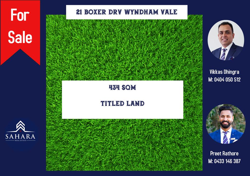 434 Sqm Title Land In Wynbrook Estate !!!!