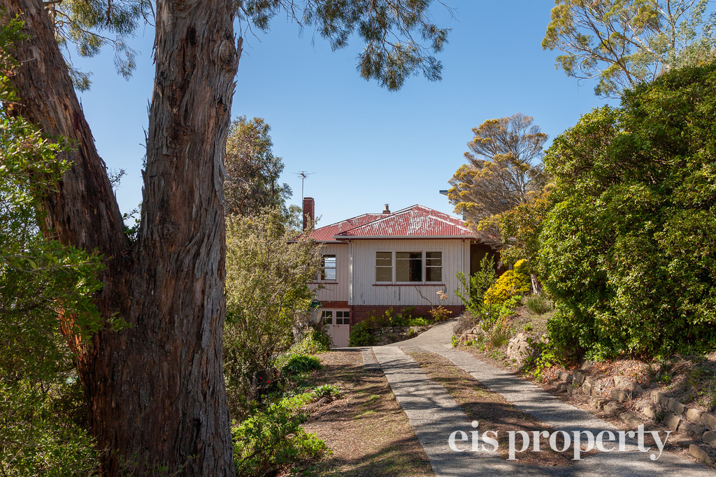 A spacious family home with great views and great potential