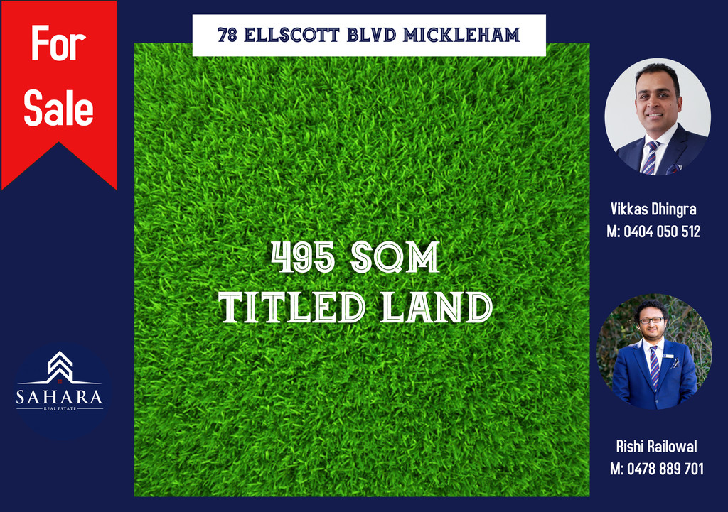 MAGNIFICENT, READY TO BUILD LAND IN MICKLEHAM!!!!!!!!!!!