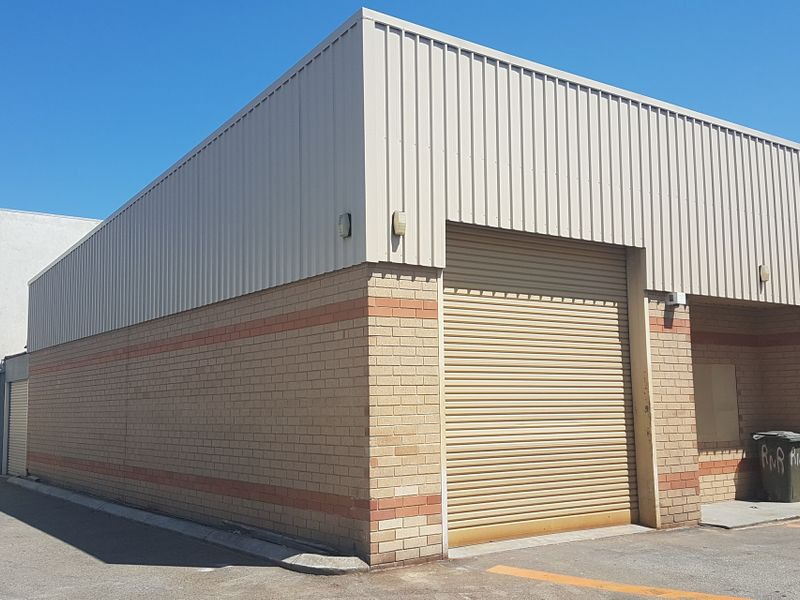 LEASED – REAR 198 SQM WAREHOUSE