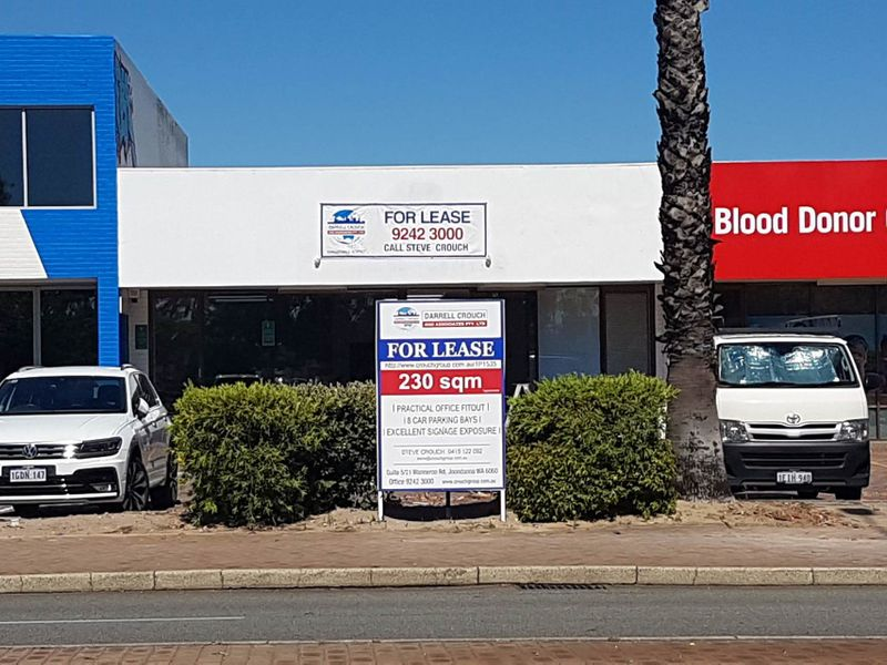 LEASED 230sqm & Eight Car Bays – Prime Location and Great Exposure