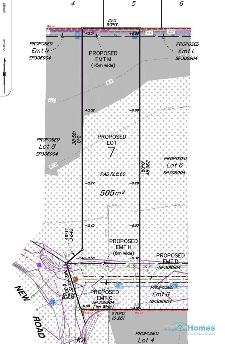 Lot 7 – Registered Land – 412m2