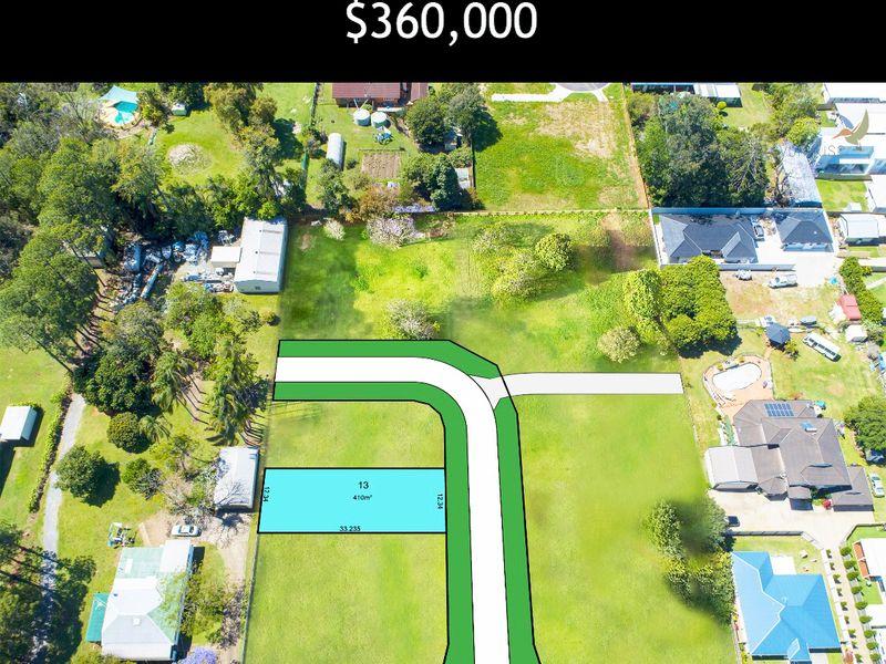 Lot 13 Joshua Crescent – Halcyon Rise Estate – (17km to Brisbane CBD)