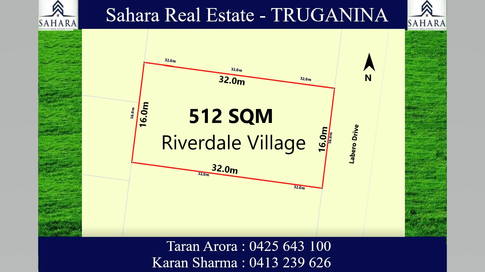 512 sqm East Facing in Riverdale Village