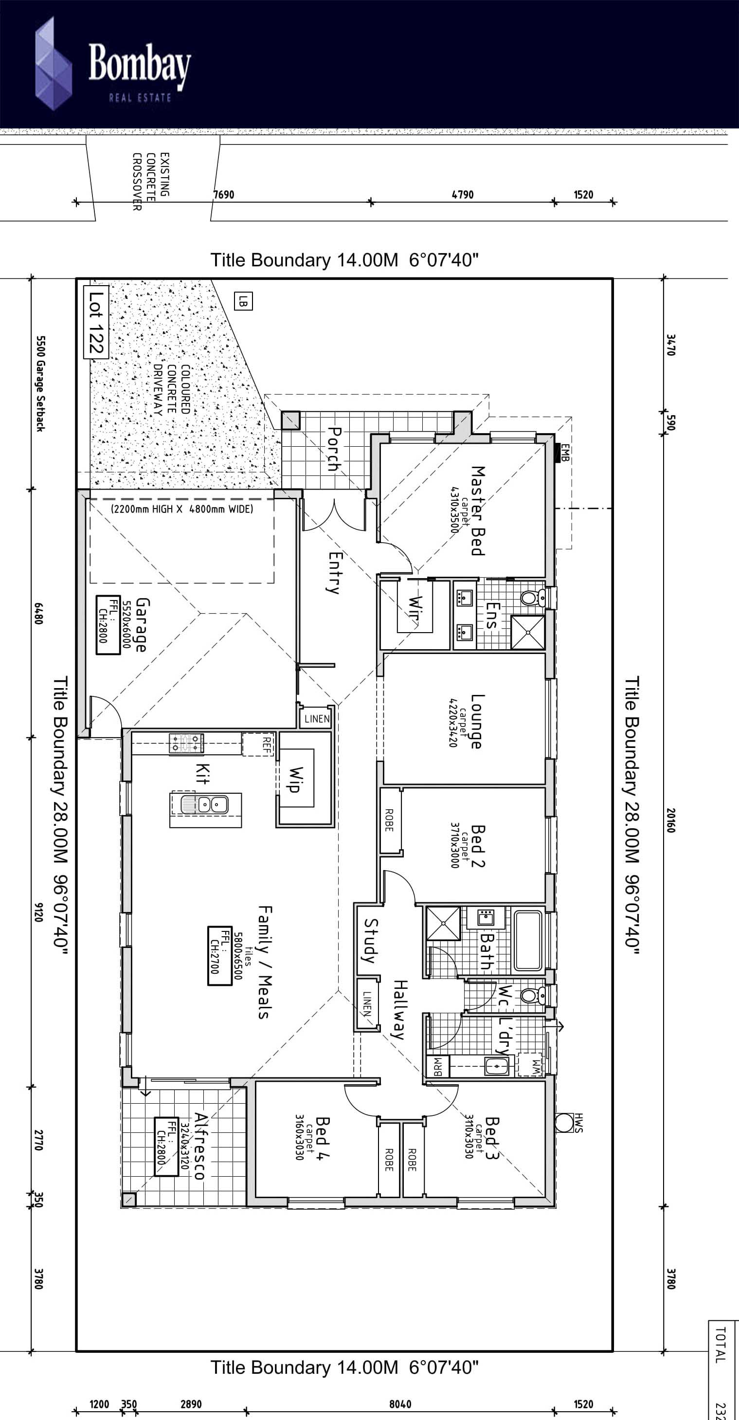 Brand New Home 4 BR Home