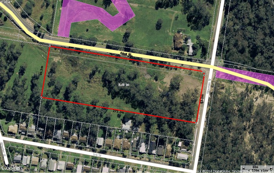 Developing land – Approved for building