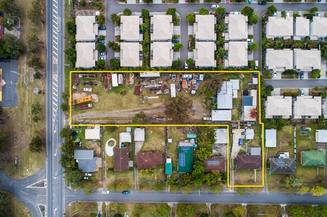 Developer attention – Huge block with 2 street frontage