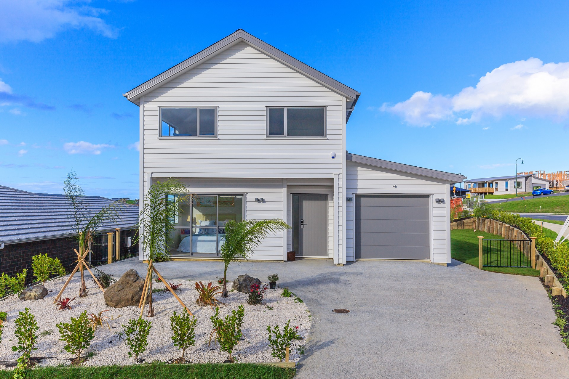 Brand New Family Home with Great Marina Waterview