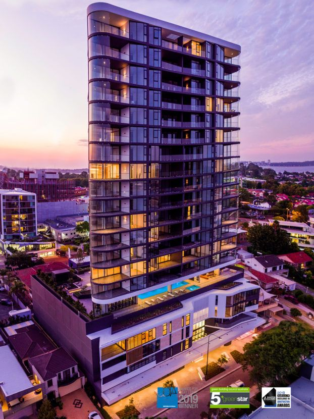 Perth's 1st Five Star Green Star | Luxury Residential Building