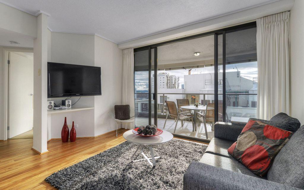 Stylishly renovated Aurora Towers Apartment