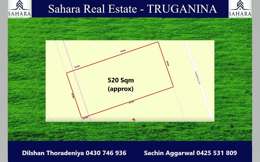 Massive 16m frontage – 520sqm TITLED Land in Melton South