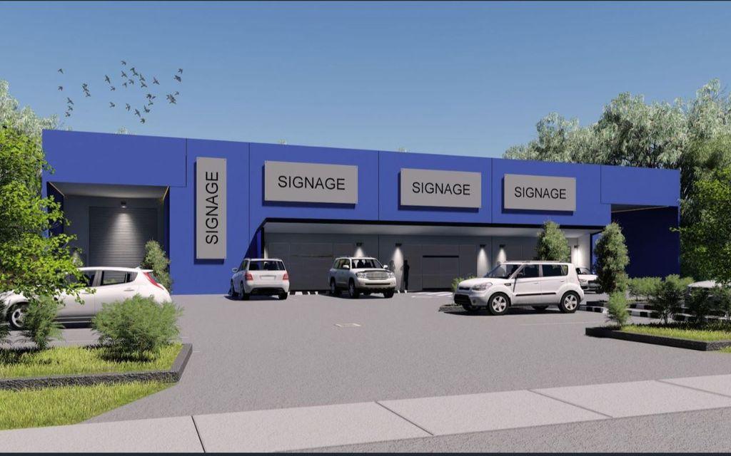 Bruce Highway Exposed Showroom / Warehouse
