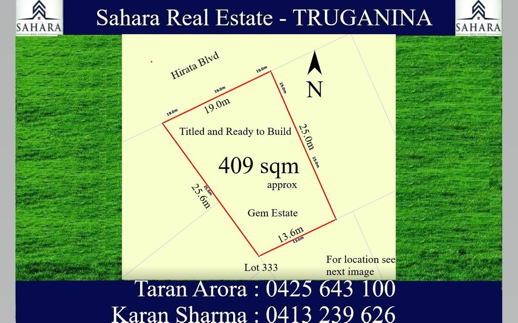 Titled and Ready to Build in Gem Estate !!