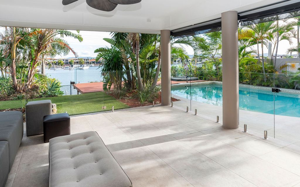 SPACIOUS FAMILY WATERFRONT HOME IN GATED ESTATE