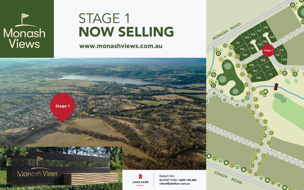 INTRODUCING GIPPSLAND'S PREMIER RESIDENTIAL ADDRESS – STAGE 1 NOW SELLING!