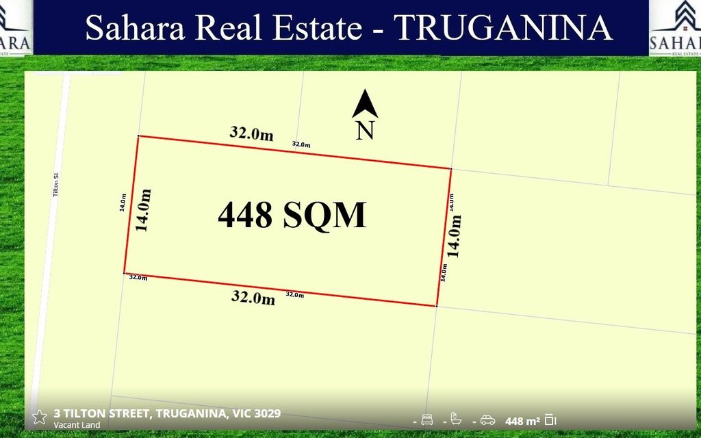 448 sqm – Truganina  !!