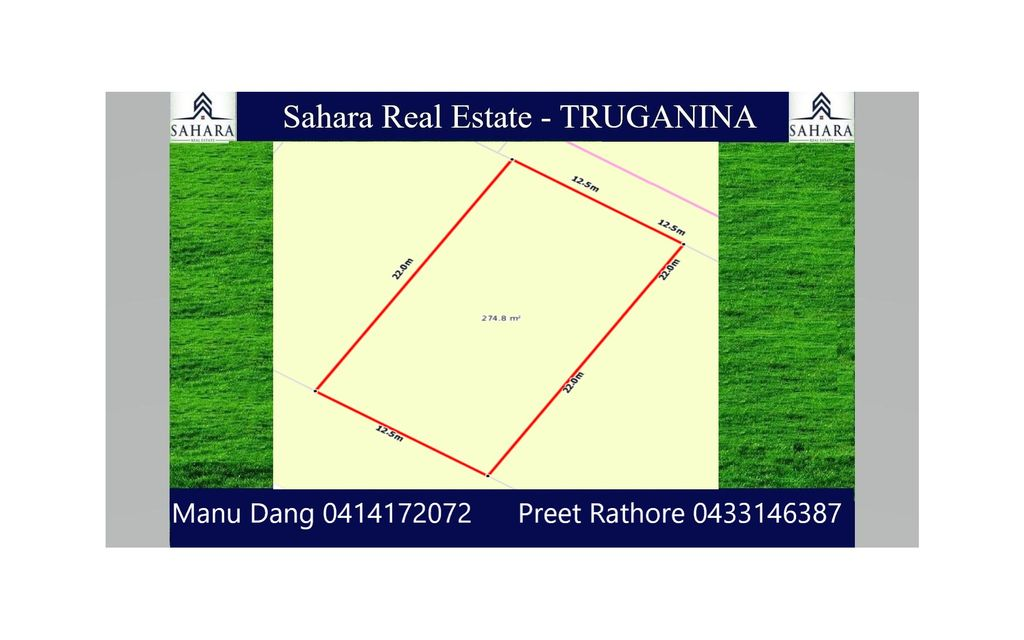 Titled Land For Sale – Thornhill Park !!