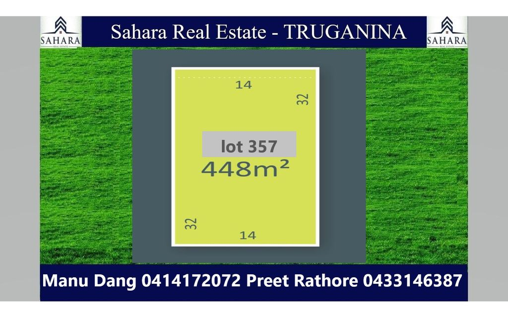 448 sqm North Facing Land in Melton South !!