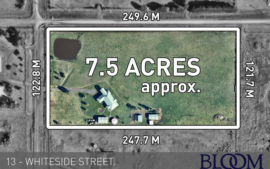 13.5 ACRES of DEVELOPABLE LAND