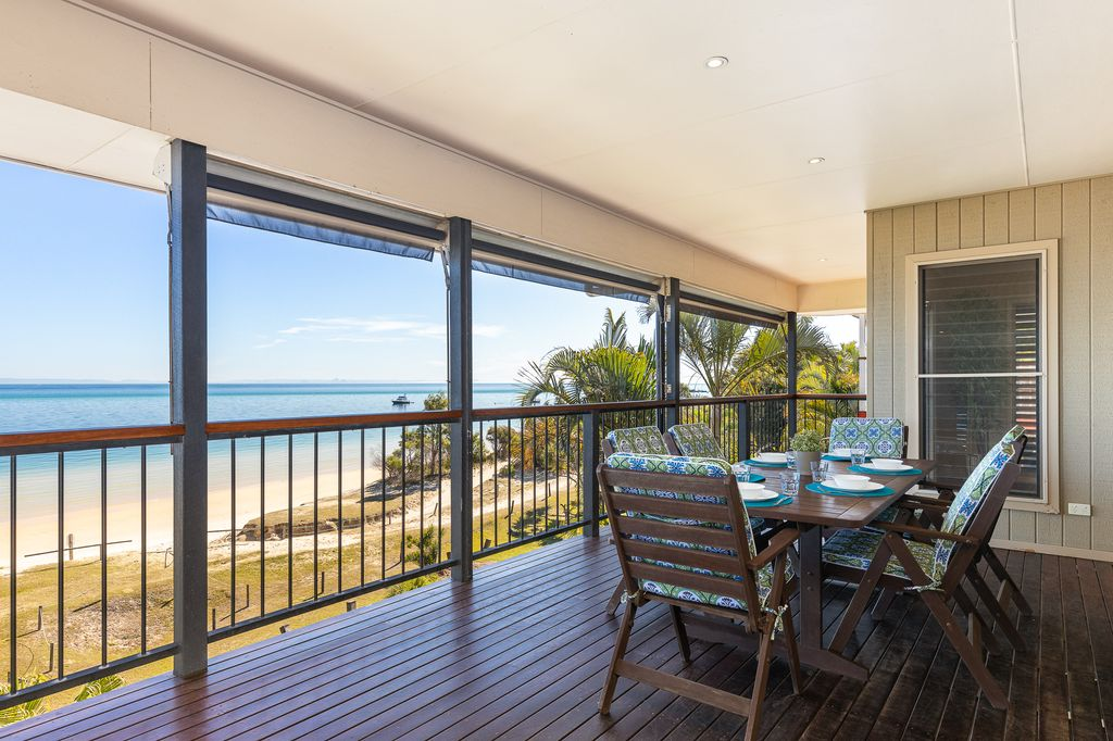 The white sands of Moreton Bay at your door