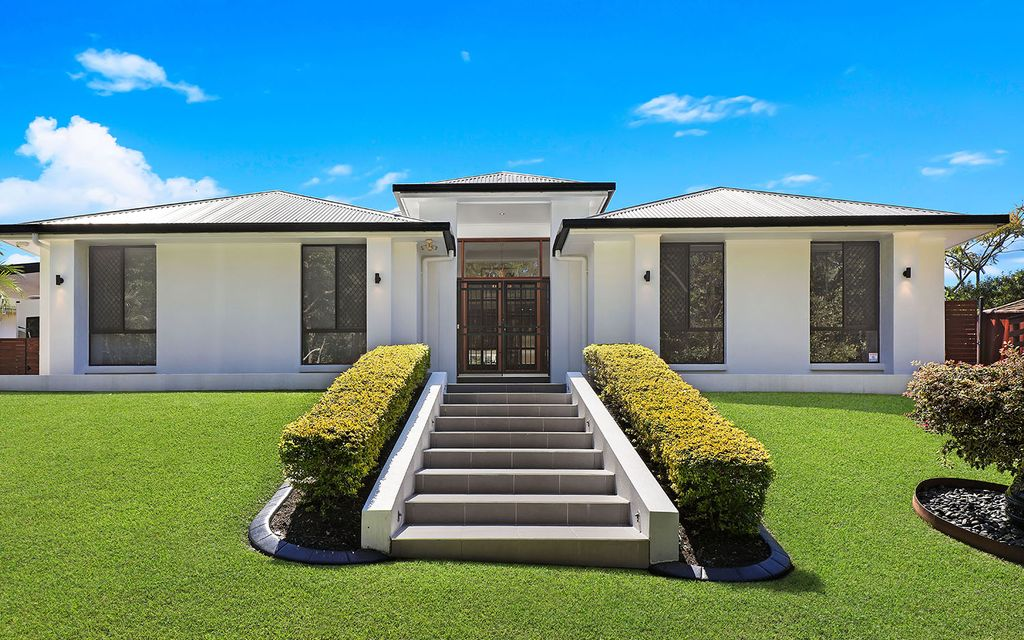 Sophisticated family home in desirable Buderim locale offering caravan/boat storage